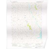 USGS Topo Map Oregon Upton Mountain 281945 1973 24000 Poster