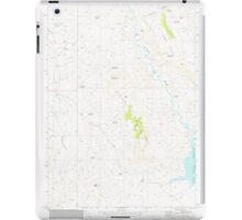 USGS Topo Map Oregon Upton Mountain 281945 1973 24000 iPad Case/Skin