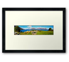 Lake Wakatipu - Central Otago - New Zealand Framed Print