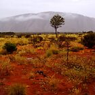 Uluru.....Just Add Water by MiksPics