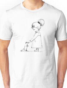 Little Girl Unisex T-Shirt