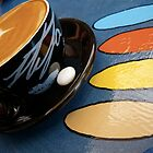 Ovals and Coffee by waxyfrog