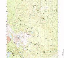 USGS Topo Map Oregon Broken Top 282278 1959 62500 by wetdryvac