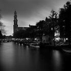 Amsterdam - Westertoren by Timo Balk