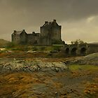 """Autumn at Eilean Donan"" by peaky40"