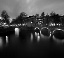Amsterdam - Leidsegracht by Timo Balk