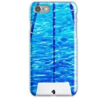 LIFE IN THE FAST LANE....LANE #4 iPhone Case/Skin