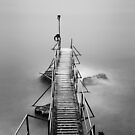 bw seaside long exposure 02 by hkavmode