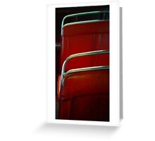 chrome and leatherette #2 Greeting Card
