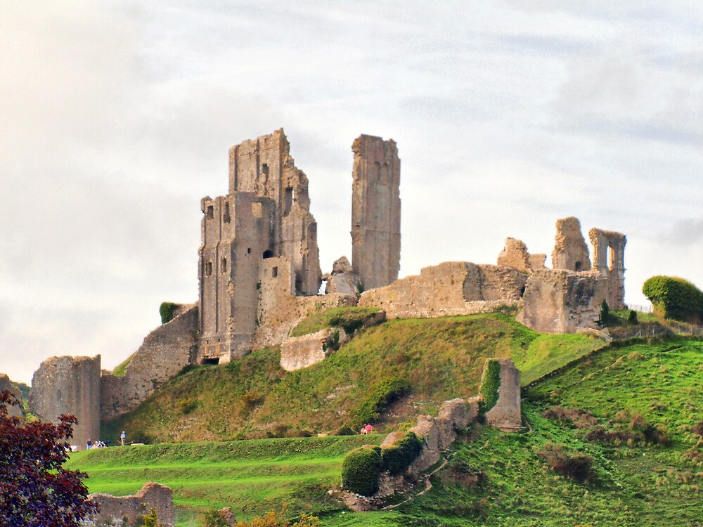 Corfe Castle by HistoryBuff
