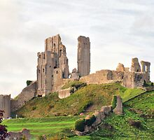 Corfe Castle by HistoryBuff