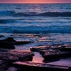 Indian Ocean Sunset by Andrew Dickman