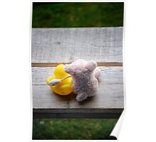 Karens Piggy trying a move on Ducky Poster