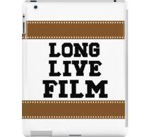 Long Live Film iPad Case/Skin