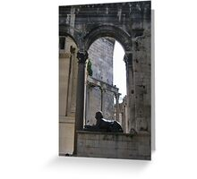 Diocletian palace  Greeting Card