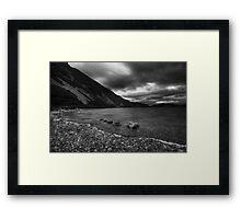 Lough Shore Framed Print