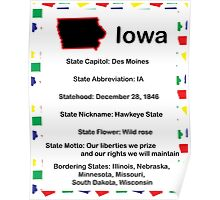 Iowa Information Educational Poster