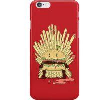 BURGER KING iPhone Case/Skin