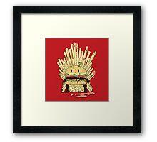 BURGER KING Framed Print