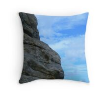 Stone and sky Throw Pillow