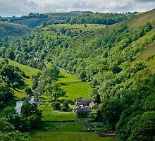 Monsal Dale from Monsal Head, Derbyshire by Geoff Spivey
