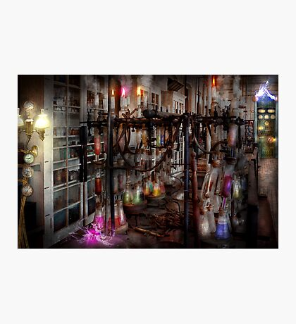 Mad Scientist - Essence of life machine Photographic Print