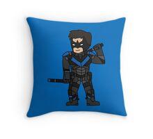 Nightwing Arkham Knight Throw Pillow