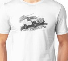 landrover drawing Unisex T-Shirt