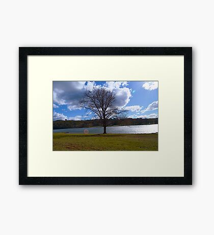 Lake Canobolas - Orange NSW Framed Print