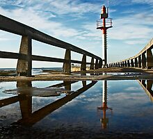 La jetee de Grandcamp / The jetty of Grandcamp by cclaude
