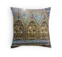Reliquary Casket Of Charles the Good Throw Pillow