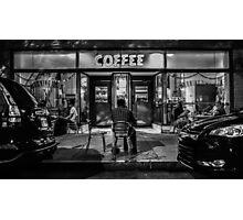 Caffeine Addict Photographic Print
