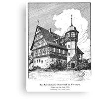 Georg Lilie Wasungen Stift Canvas Print