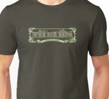 the IRS spells THEIRS - 1 color - green Unisex T-Shirt
