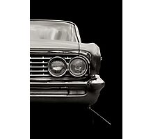 Classic Car (black and white) Photographic Print