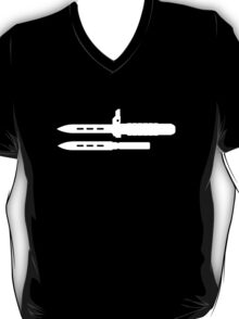 Ballistic Knife (without text) T-Shirt