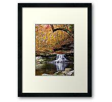 McCormicks Creek Falls, Indiana Framed Print