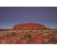 Uluru Photographic Print