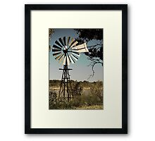 Still winds.  Framed Print