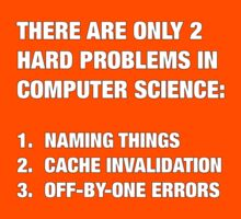 Only 2 hard problems in computer science Kids Tee