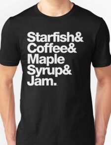 Prince Starfish & Coffee Merchandise T-shirts & More T-Shirt