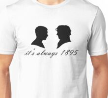Sherlock and John Silhouettes Unisex T-Shirt