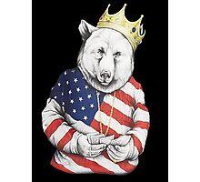 Bigi Bear America Photographic Print