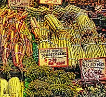 Vegetables by jeanniechris