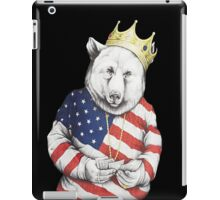 Bigi Bear America iPad Case/Skin