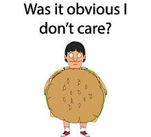 Gene Belcher Don't Care Bobs Burgers Quote by colatraynor