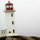 Llighthouse at Peggy's Cove by Peggy Berger