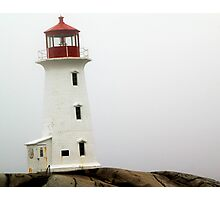Llighthouse at Peggy's Cove Photographic Print