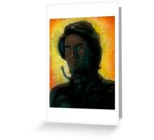 Paul Muad'Dib  Greeting Card
