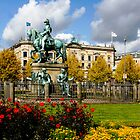 King's New Square.... (kongen's nytorv) by Brenda Dow